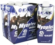 EAS - Myoplex Original RTD 42g Protein Shake Rich Dark Chocolate - 4 Pack