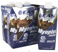 EAS - Myoplex Original RTD 42g Protein Shake Chocolate Fudge - 4 Pack