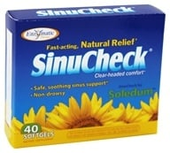 Enzymatic Therapy - SinuCheck Sinus Formula - 40 Softgels, from category: Herbs
