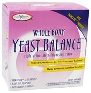 Enzymatic Therapy - Whole Body Yeast Balance Kit Triple-Action Internal Cleansing System by Enzymatic Therapy