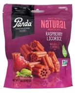Panda - Licorice Soft Chews Raspberry - 7 oz., from category: Health Foods