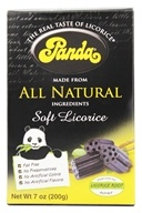 Licorice Soft Chews Black - 7 oz. by Panda