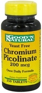 Good 'N Natural - Chromium Picolinate 200 mcg. - 250 Tablets - $8.70