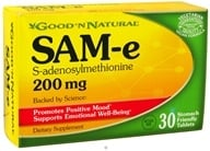 Good 'N Natural - SAM-e 200 mg. - 30 Tablets, from category: Nutritional Supplements