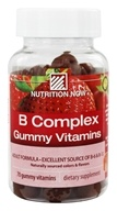 Nutrition Now - B Complex Gummy Vitamins for Adults Strawberry - 70 Gummies by Nutrition Now