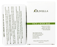 Olivella - Virgin Olive Oil Face and Body Bar Soap - 5.29 oz. by Olivella
