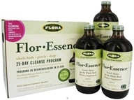 Flora - Flor Essence 25-Day Cleanse Program 3 Pack - 51 oz., from category: Detoxification & Cleansing