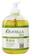 Olivella - Virgin Olive Oil Face and Body Liquid Soap - 16.9 oz. by Olivella