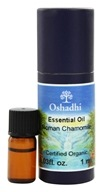 Oshadhi - Professional Aromatherapy Roman Chamomile Certified Organic Essential Oil - 1 ml., from category: Aromatherapy