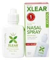 Xlear - Sinus Nasal Spray with Xylitol - 0.75 oz. (700596000018)