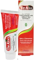 Dr. Ken's - All Natural Fluoride-Free Toothpaste with Green Tea Extract Cinnamon - 6 oz.