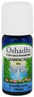 Image of Oshadhi - Professional Aromatherapy Wild Frankincense Essential Oil - 10 ml. CLEARANCED PRICED