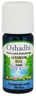 Image of Oshadhi - Professional Aromatherapy Rose Geranium Organic Essential Oil - 10 ml.