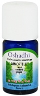 Image of Oshadhi - Professional Aromatherapy Wild Immortelle Certified Organic Essential Oil - 3 ml.