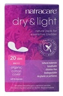 Natracare - Organic Cotton Dry & Light Natural Incontinence Pads - 20 Pad(s) - $5.19