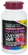 Nature's Plus - Herbal Actives Extended Release Red Yeast Rice, Omega 3-6-9 with CoQ10 - 30 Softgels by Nature's Plus