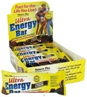 Nature's Plus - Ultra Energy Bar Cookies & Cream - 2.1 oz., from category: Nutritional Bars