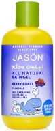 Jason Natural Products - Kids Only All Natural Bath Gel Berry Burst - 8 oz.