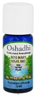 Image of Oshadhi - Professional Aromatherapy Wild Highland Rosemary Certified Organic Essential Oil - 10 ml. CLEARANCE PRICED