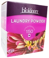 Biokleen - Laundry Powder Grapefruit Seed & Orange Peel Extract - 10 lbs. by Biokleen