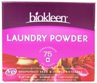 Biokleen - Laundry Powder Grapefruit Seed & Orange Peel Extract - 5 lbs. by Biokleen