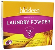 Biokleen - Premium Plus Laundry Powder Grapefruit Seed & Orange Peel Extract - 5 lbs. - $12.69