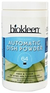 Biokleen - Automatic Dish Powder Free & Clear Unscented - 32 oz. by Biokleen