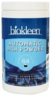 Image of Biokleen - Automatic Dish Powder Grapefruit Seed & Orange Peel Extract - 32 oz.