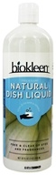 Biokleen - Dishwash Liquid Free & Clear Unscented Allergen-Fighting Formula - 32 oz. by Biokleen