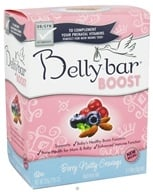Belly Bar - Boost Nutrition Bar Berry Nutty Cravings Yogurt Berry Crunch - 5 Bars (851933001295)