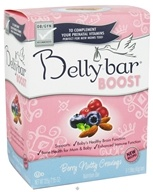 Image of Belly Bar - Boost Nutrition Bar Berry Nutty Cravings Yogurt Berry Crunch - 5 Bars