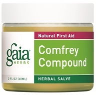 Gaia Herbs - Comfrey Compound 60ml - 2 oz. Formerly Comfrey Componded Salve (751063354004)