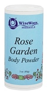 Wise Ways - Rose Garden Body Powder - 3 oz. (727101820015)