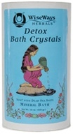 Wise Ways - Detox Bath Crystals Mineral Bath With Dead Sea Salts - 16 oz.