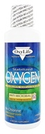 Oxylife Products - Oxygen with Colloidal Silver and Aloe Vera Unflavored - 16 oz.