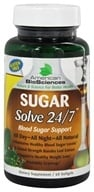 American BioSciences - Sugar Solve 24 7 Banaba Leaf Extract - 60 Softgels, from category: Nutritional Supplements