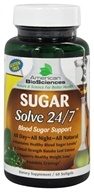 American BioSciences - Sugar Solve 24 7 Banaba Leaf Extract - 60 Softgels