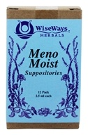 Wise Ways - Meno Moist Suppositories - 12 Pack(s) (727101500580)