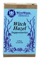 Image of Wise Ways - Witch Hazel Suppositories - 12 Pack(s)