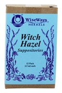 Wise Ways - Witch Hazel Suppositories - 12 Pack(s) - $6.91