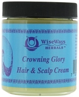 Wise Ways - Crowning Glory Hair and Scalp Cream - 4 oz. (727101400446)