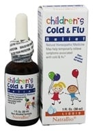 Image of NatraBio - Childrens Cold and Flu Relief - 1 oz.