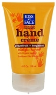 Image of Kiss My Face - Hand Creme Certified Organic Grapefruit & Bergamot - 4 oz.