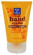 Kiss My Face - Hand Creme Certified Organic Grapefruit & Bergamot - 4 oz.