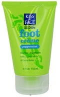 Kiss My Face - Foot Creme Peppermint - 4 oz.