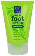 Kiss My Face - Foot Scrub Peppermint - 4 oz. by Kiss My Face