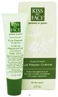 Kiss My Face - Potent & Pure Eyewitness Eye Repair Creme - 0.5 oz.