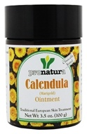 Pronatura - Calendula Marigold Ointment - 3.5 oz., from category: Herbs