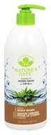 Image of Nature's Gate - Body Wash Velvet Moisture Hemp - 18 oz.