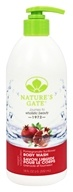 Image of Nature's Gate - Body Wash Velvet Moisture Pomegranate Sunflower - 18 oz.